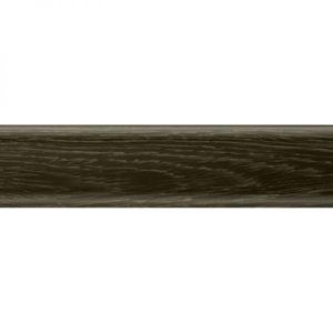 Плинтус пластиковый Salag (Салаг) напольный, NFG62 62х15x2500 мм. 86 дуб горелый / шт.