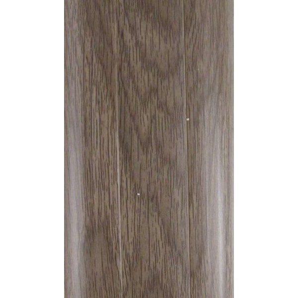 Напольный пластиковый плинтус пвх Идеал Комфорт к55 Дуб Капучино 205 (ideal Comfort 55х22х2500 мм)