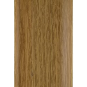 Напольный пластиковый плинтус пвх Идеал Комфорт к55 Дуб Светлый 212 (ideal Comfort 55х22х2500 мм)