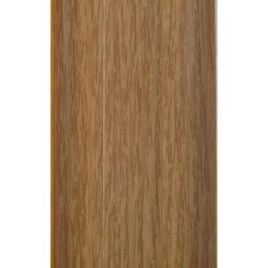 Напольный пластиковый плинтус пвх Идеал Комфорт к55 Дуб 201 (ideal Comfort 55х22х2500 мм)