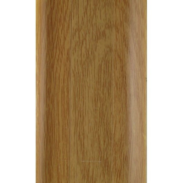 Напольный пластиковый плинтус пвх Идеал Комфорт к55 Дуб Имперский 204 (ideal Comfort 55х22х2500 мм)