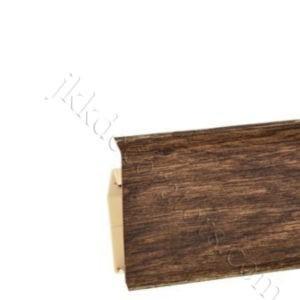 Плинтус пластиковый Korner EVO-70 с кабель-каналом, Modern Collection, 70x20.7x2500 мм. Дуб Кардамон (25-70-0-032) / шт.