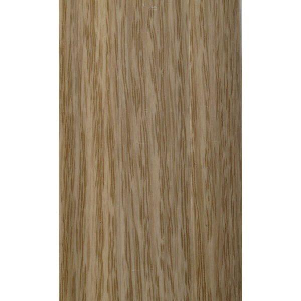 Напольный пластиковый плинтус пвх Идеал Комфорт к55 Дуб снежный 215 (ideal Comfort 55х22х2500 мм)