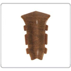 Внутренний угол на плинтус пластиковый Идеал Идеал Элит Е67