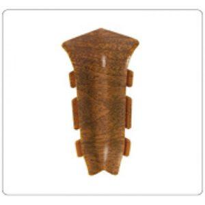 Внутренний угол на плинтус пластиковый Идеал Идеал Система 80