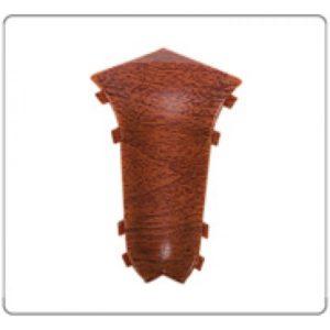 Внутренний угол на плинтус пластиковый Идеал Комфорт Глянцевый