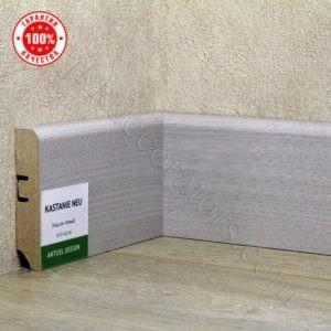 Плинтус МДФ Hannahholz 2400х68×16мм Каштан новый-036 / шт.
