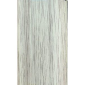 Напольный пластиковый плинтус пвх Идеал Комфорт к55 Клен Северный 263 (ideal Comfort 55х22х2500 мм)