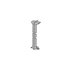 Соединение анод. серебро PKGIN 80 для плинтуса Proskirting