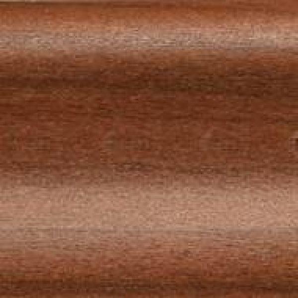 Плинтус пластиковый Dollken 60x8,5x2200 мм. Махагон 54 / шт.