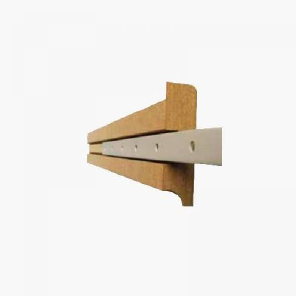 Плинтус МДФ Hannahholz 2400х68×16мм Дуб джок стрейтч светлый-034 / шт.