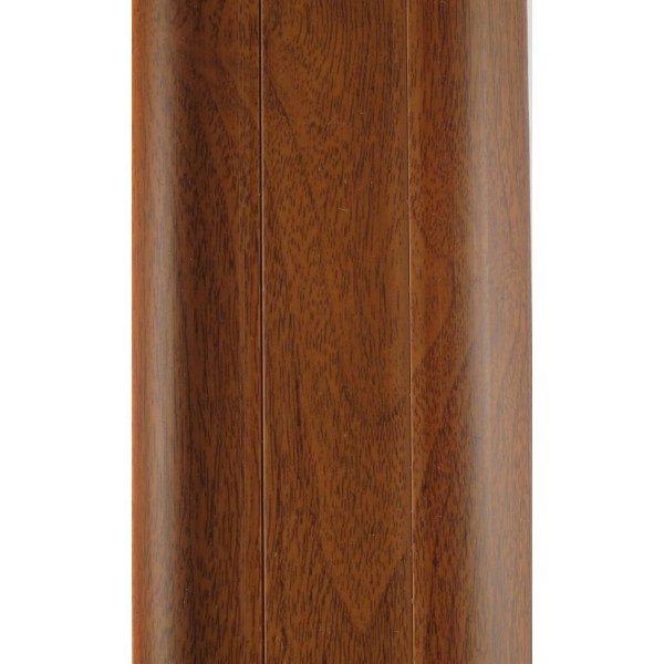Напольный пластиковый плинтус пвх Идеал Комфорт к55 Ольха 341 (ideal Comfort 55х22х2500 мм)
