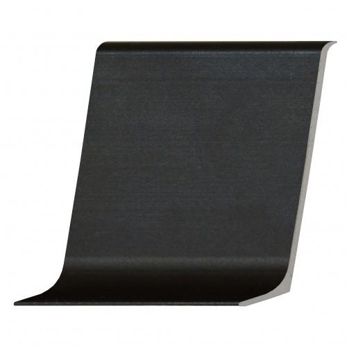Плинтус алюминиевый (60 мм) Черный