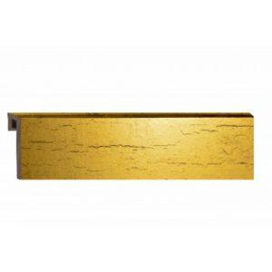 Плинтус HSP FOLI 60 Золото №1 2,5 м