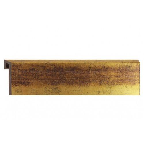 Плинтус HSP FOLI 60 Золото №2 2,5 м