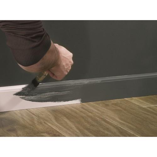 Плинтус МДФ Smartprofile Paint 100L (100мм) Белый под покраску
