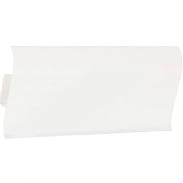Плинтус пластиковый напольный Идеал Элит-Макси, 85х25х2500 мм. М85 Белый 001 / шт.