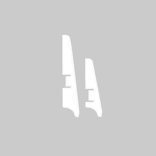 Плинтус МДФ 58×16х2050 мм. белый L-decor LP-103*58 / шт.