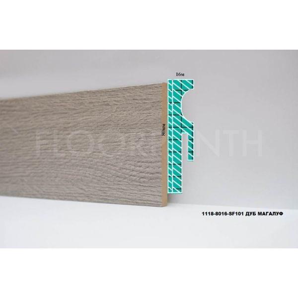 Плинтус МДФ Floorplinth 80x16x2070 SF101 Дуб Магалуф / шт.