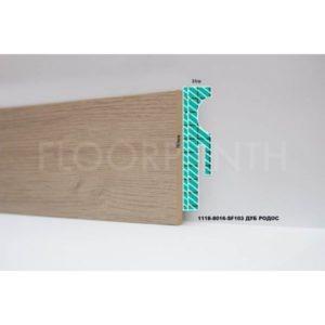 Плинтус МДФ Floorplinth 80x16x2070 SF103 Дуб Родос / шт.