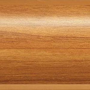 Плинтус пластиковый Dollken напольный 63x26x2500 мм. MD-63 0рех коричневый / шт.