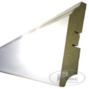 Плинтус МДФ Smartprofile Gloss 82 белый 2,4 м
