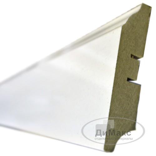 Плинтус МДФ Smartprofile Грунт 82 белый 2,4 м