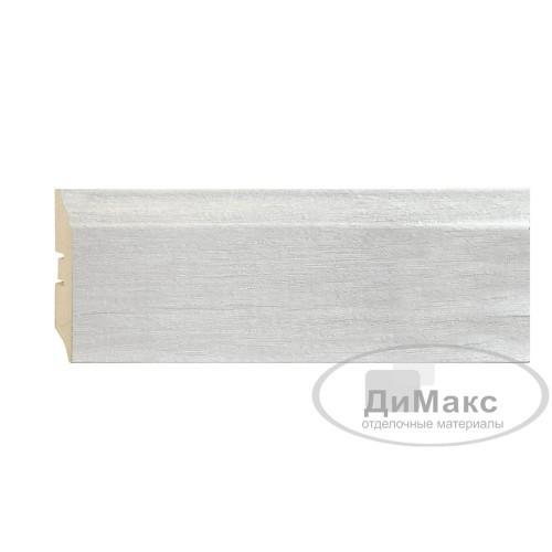 Плинтус МДФ Smartprofile STRONG 82 Дуб винтаж светло-серый П07 2,4 м