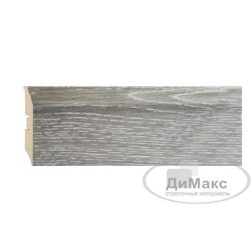 Плинтус МДФ Smartprofile STRONG 82 Дуб серена серый П02 2,4 м