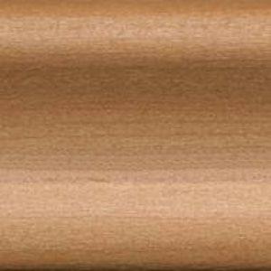 Плинтус пластиковый Dollken 60x8,5x2200 мм. Вишня античная 655N / шт.
