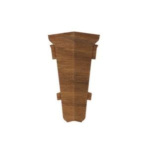 Внутренний угол на плинтус пластиковый Декор Пласт 67мм