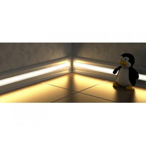 Вставка в плинтус для светодиодной ленты