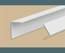Угол пластиковый Белый арочный 17x5x2700 мм. Идеал Ideal