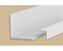 Угол пластиковый Белый 20х20х2700 мм. Идеал Ideal
