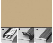Угол антискользящий Идеал 012 Бежевый 42х2,3х900 мм