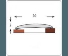Порог самоклеющийся Идеал ИЗИ Металлик Бронзовый (30 мм)