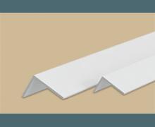 Угол пластиковый Белый 40x20х2700 мм. Идеал Ideal