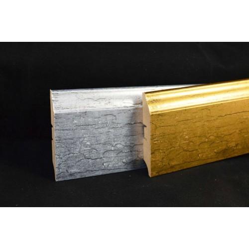 Плинтус МДФ Smartprofile Металлизированный 82 Золото №1 2,4 м